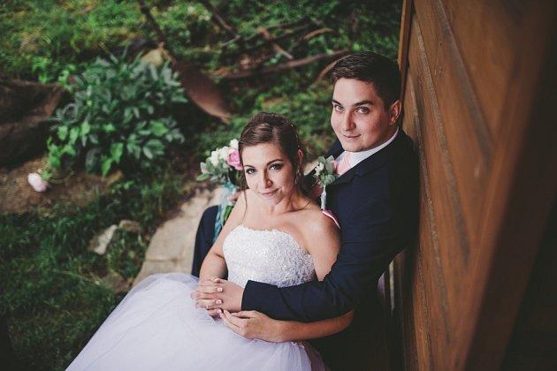Soutěžní svatební pár číslo 62 - Barbora a Květoslav Gronychovi, Vysoké Pole