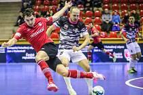 Futsalisté Uherského Hradiště (v maskáčových dresech). Ilustrační foto