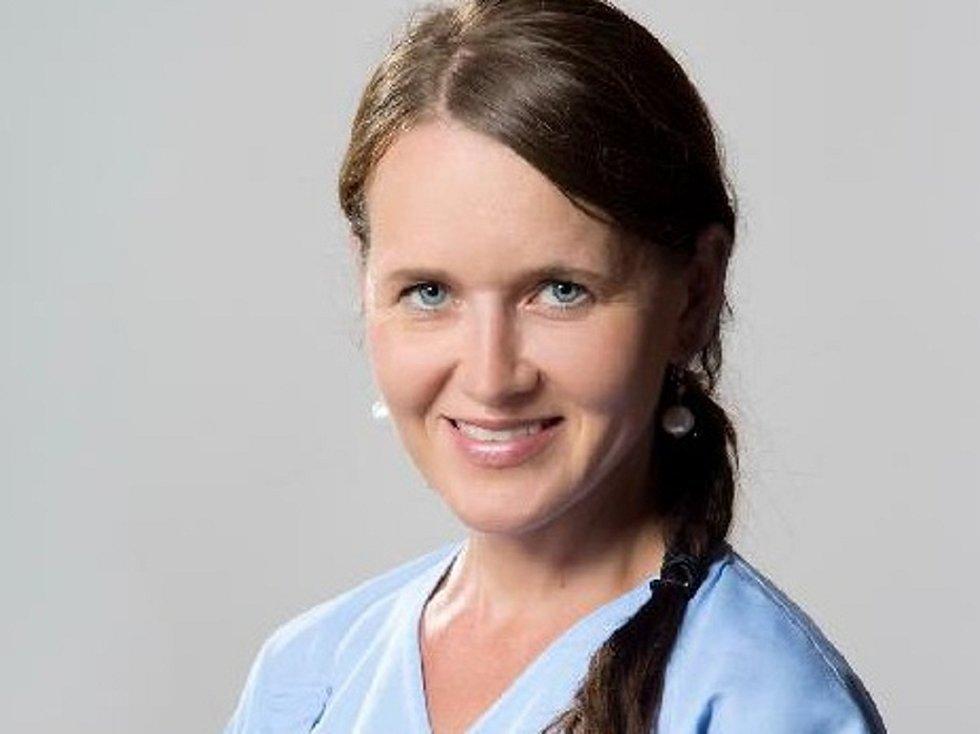 Oční lékařka Magdaléna Dospělová.
