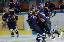 Hokejisté Valašského Meziříčí si s chutí zastříleli. Karviné nasázeli celkem devět branek.