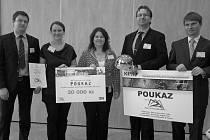 Zástupci závodu firmy Honeywell Aerospace získali ocenení Safety Culture Award.