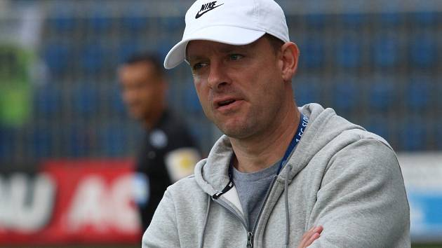 Trenér Slovácka Martin Svědík