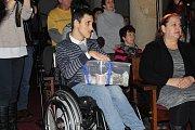 Benefiční koncert vybíral peníze pro Prokopa Pospíšila, který trpí od narození mozkovou obrnou.