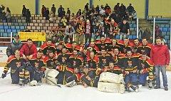 Hokejisté Uherského Ostrohu v kvalifikaci o postup do druhé ligy favorizovanou Kopřivnici pořádně potrápili.