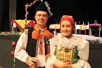 Vsobotu je uspořádal Slovácký krúžek vPraze. Kralovali jim šohaj a děvče zMoravského Slovácka.