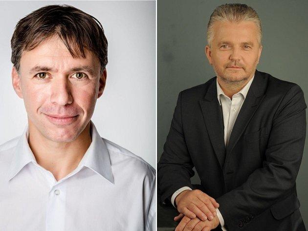 Zleva: Patrik Kunčar, Libor Lukáš.