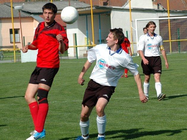 V derby mezi béčky Ostrožské Nové Vsi a Uherského Ostrohu bylo k vidění osm branek.
