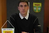 Petr Vladovič v roce 2006, kdy byl starostou Slavkova.