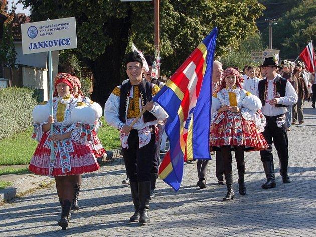 Slavnosti vína v Uherském Hradišti.