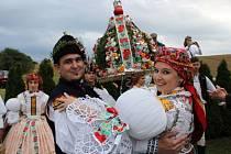 Vítězní stárkovský pár roku 2012: Nikola a Zdeněk Pastorkovi z Jalubí.
