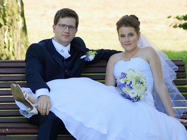 Soutěžní svatební pár číslo 166 - Lenka a Ondřej Kubicovi, Opava