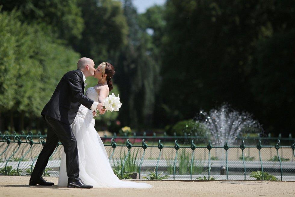 Soutěžní svatební pár číslo 186 - Kateřina a Vladimír Hýžďalovi, Zlín