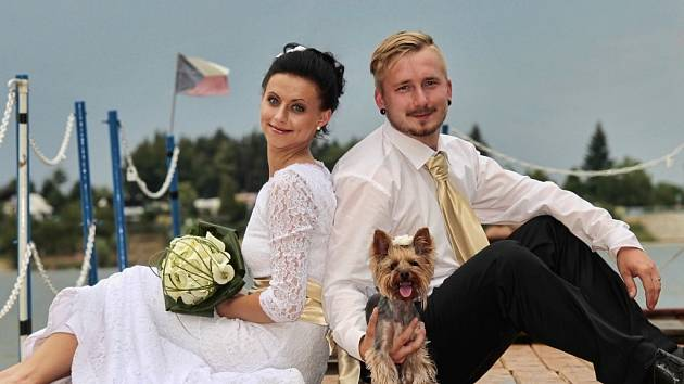 Soutěžní svatební pár číslo 39  –  Barbora a Tomáš Kirchnerovi, Určice