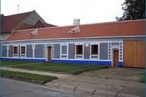 Rodný dům Joži Uprky v Kněždubu.