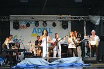 Předposlední večer Slováckého léta v Uherském Hradišti nabídl výuku salsy a kubánskou hudbu.
