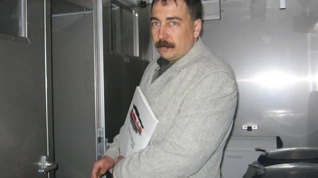 Milan Balíček má na povel zlechovské dobrovolné hasiče