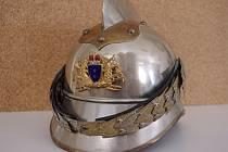 Součástí nové expozice bude mimo jiné i unikátní helma z dob počátku bojkovického hasičského sboru