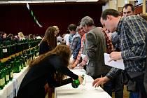 Velikonoční výstava vín v Boršicích nabídla 1043 vzorků.