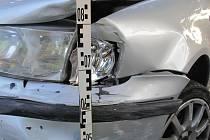 Dopravní nehoda v Uherském Hradišti.