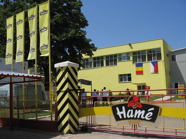 Provoz Hamé v Rumunsku.