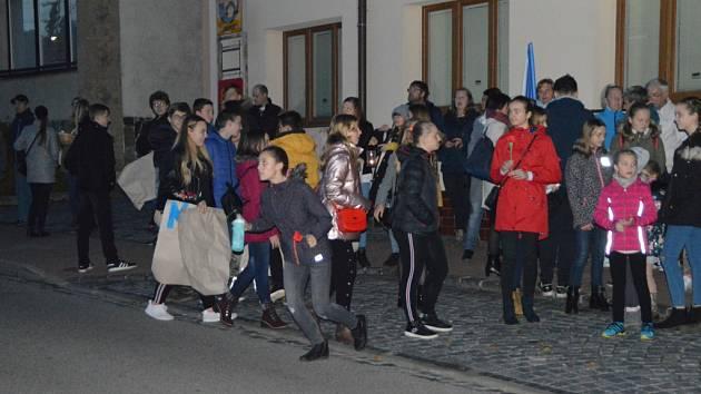 Oslava 17. listopadu v Polešovicích