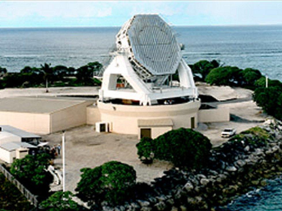 Takto vypadá radarová základna na Havaji.