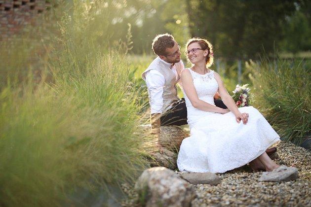 Soutěžní svatební pár číslo 131 - Marie a Rostislav Kubáčkovi, Koryčany
