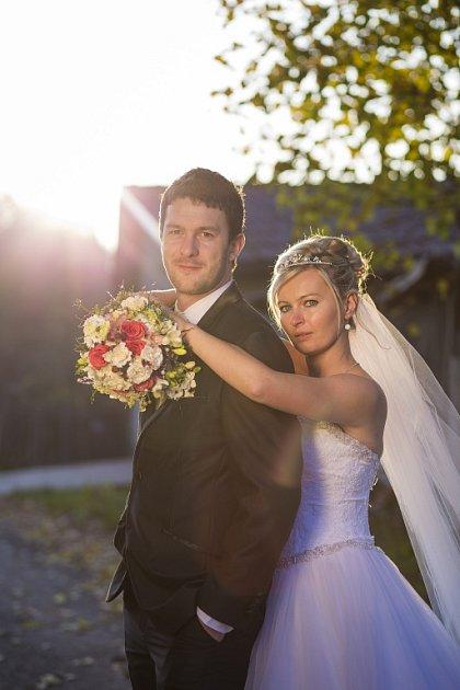 Soutěžní svatební pár číslo 139 - Alena a Martin Janáčovi, Lidečko