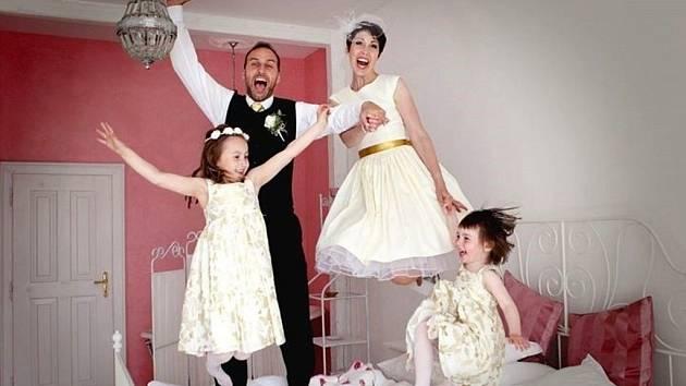 Soutěžní svatební pár číslo 63 - Marcela a Otakar Novákovi, Zlín
