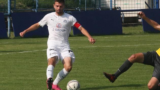 Kapitán fotbalistů Slovácka B Tomáš Vincour.