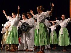 Do soutěže se zapojilo sedm souborů z Hradiště, Kunovic a Starého Města.