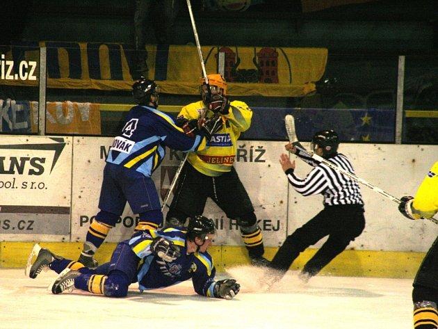 V příští sezoně už hokejisté Přerova do Kroměříže nepřijedou.