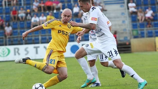 Jihlava - 1. FC Slovácko. Ilustrační foto.