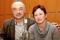 Stanislav Slováček z Nedakonic s manželkou