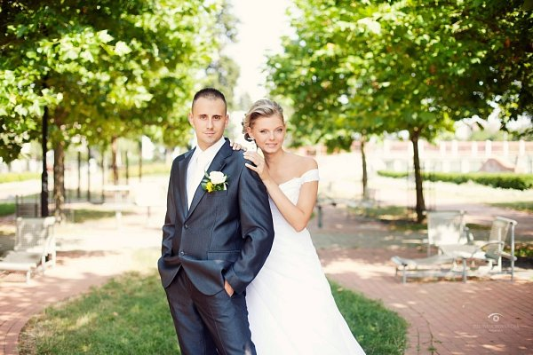 Soutěžní svatební pár číslo 34 – Jitka a Robert Bajgarovi, Přerov