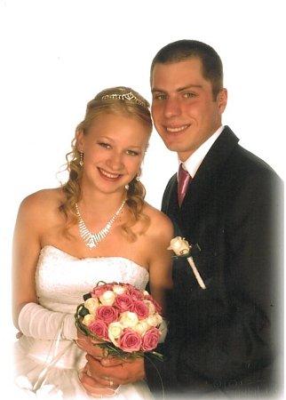 Soutěžní svatební pár číslo 45- Jana a Marek Řezníčkovi, Osek nad Bečvou