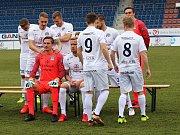 Fotbalisté Slovácka v úterý absolvovali tiskovou konferenci před startem jarní části HET ligy i tradiční focení.