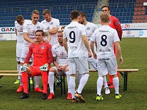 1. FC Slovácko  při focení a tiskovce před startem HET ligy