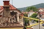 Zbrojnice díky úspěšnému projektu vyroste na místě sto let staré hasičárny, která šla v polovině letošního července kzemi.