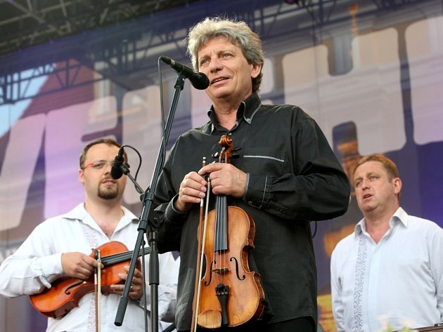 Koncert lidí dobré vůle ve Velehradě - Jiří Pavlica