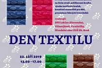 Den textilu ve Vlčnově.