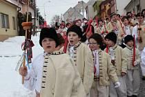 Festival masopustních tradic ve Strání. Ilustrační foto.