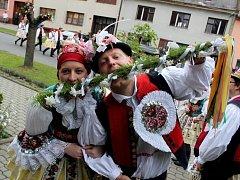 První letošní hody na Slovácku slavili v Dolním Němčí.