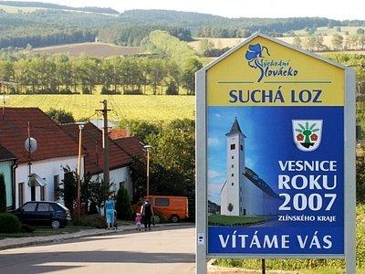 Suchá Loz se stala vesnicí roku 2007.