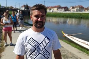 Marek Jelínek, trenér olympioničky Evy Samkové.