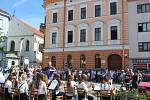 Otevření opravené budovy Základní umělecké školy na Mariánském náměstí v Uherském Hradišti