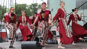 Arménský den na Bílokarpatských slavnostech v Uherském Brodě