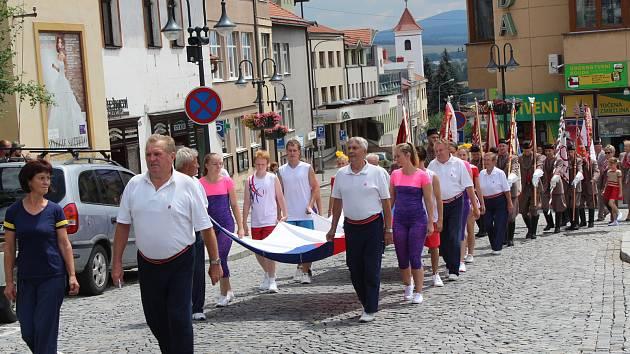 V Uherském Brodě se uskutečnil krajský sokolský slet.