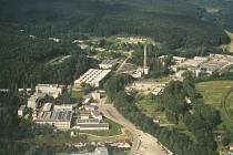 Letecký pohled na Zevetu Bojkovice. Ilustrační foto.
