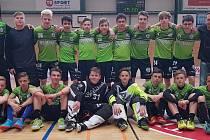 Starší žáci 1.AC eflorbal Uherský Brod se počtvrté v řadě představí na mistrovství republiky.